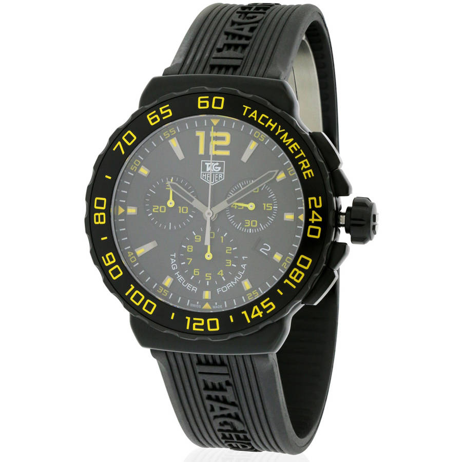 Siemens Tag Heuer Formula 1 Rubber Chronograph Mens Watch...