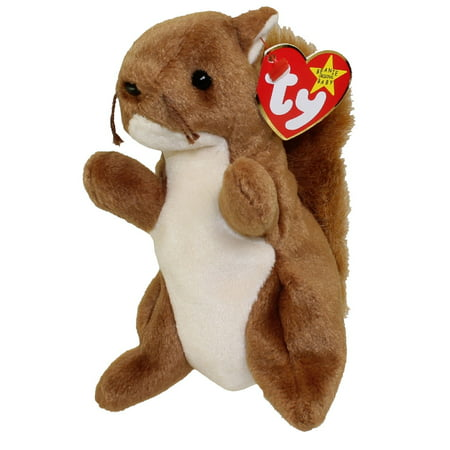 TY Beanie Baby - NUTS the Squirrel (5.5 inch)