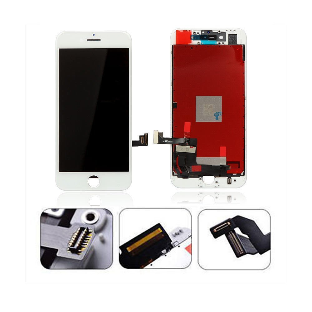 White Iphone 8 4.7 Inch LCD Screen Replacement Digitizer display touch screen