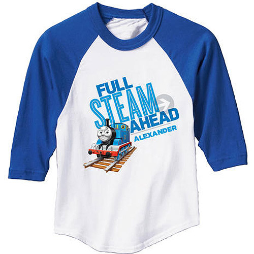 Personalized Thomas & Friends Blue Boys' Sports Jersey