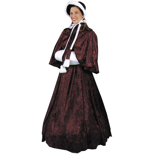 Dickens Skirt and Top Adult Halloween Costume, Size: Women's - One Size