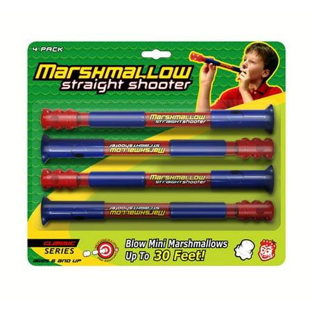 Marshmallow Fun Straight Shooter 4 pk](Rapid Fire Marshmallow Shooter)