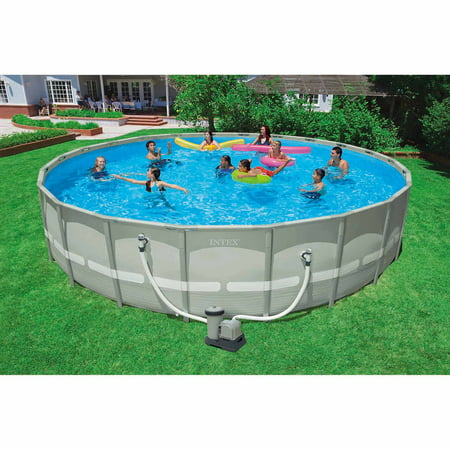 intex 22 39 x 52 ultra frame swimming pool. Black Bedroom Furniture Sets. Home Design Ideas