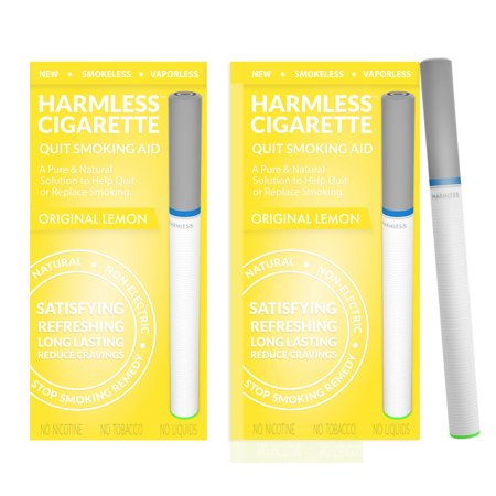 Harmless Cigarette / Alternative to Nicorette / Quit Smoking Kit / Satisfying & Effective Stop Smoking Remedy / Therapeutic Quit Smoking Aid to Help Reduce (Marijuana Rolled Into A Cigarette For Smoking)