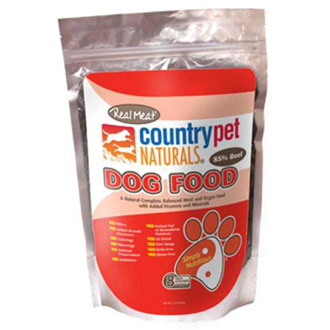 Real Meat 70602 Beef Dog Food - 2 Pound Bag