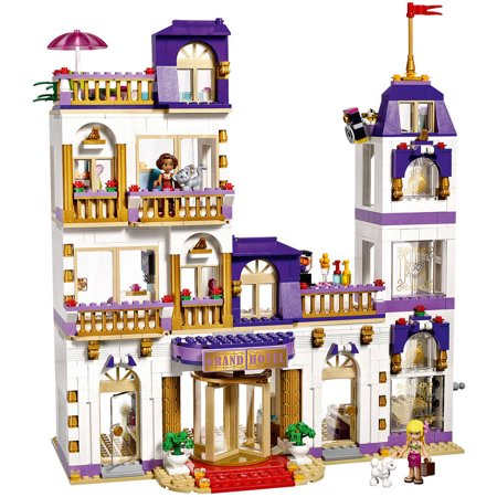 new lego friends heartlake grand hotel playset 41101 slight damage the box ebay. Black Bedroom Furniture Sets. Home Design Ideas