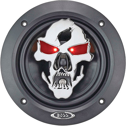 "Boss Audio Audio SK553 - PHANTOM SKULL 275 Watt 5.25"" 3-Way, Car Speakers Car Speakers  (Pair of Speakers)"