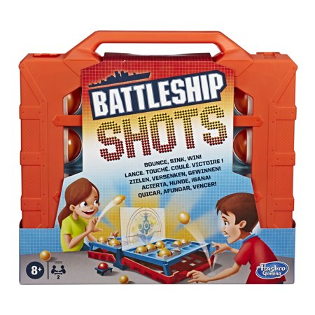 Battleship Shots Game Strategy Ball-Bouncing Game Ages 8 and Up ()