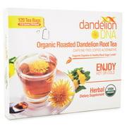 Roasted Dandelion Tea 120 bags - USDA Organic