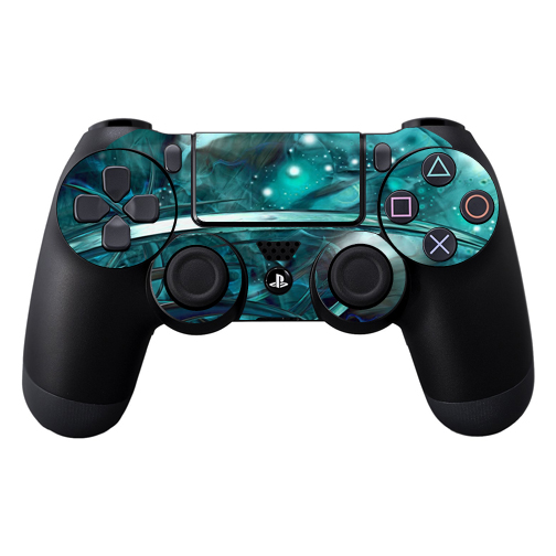 Protective Vinyl Skin Decal Cover for Sony PlayStation DualShock 4 Controller wrap sticker skins Distortion