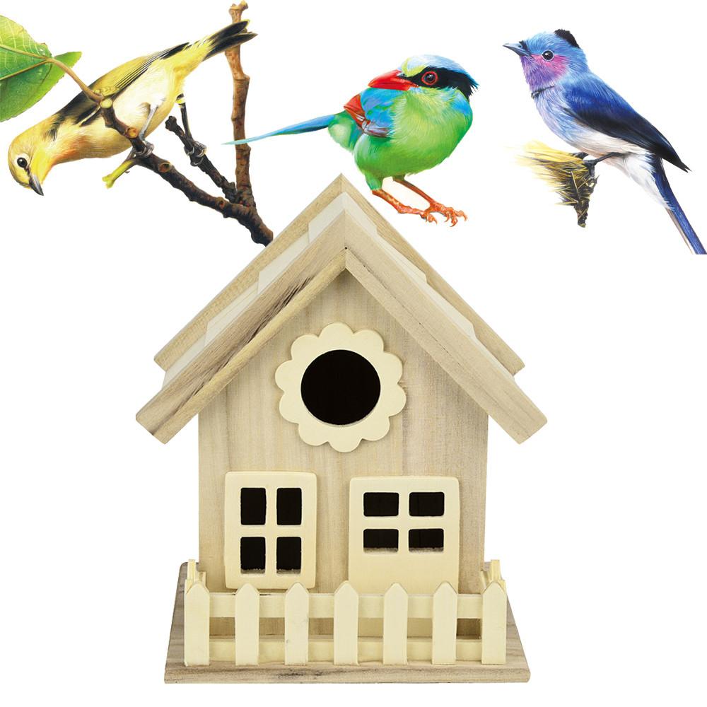 Outtop Nest Dox Nest House Bird House Bird House Bird Box Bird Box Wooden Box