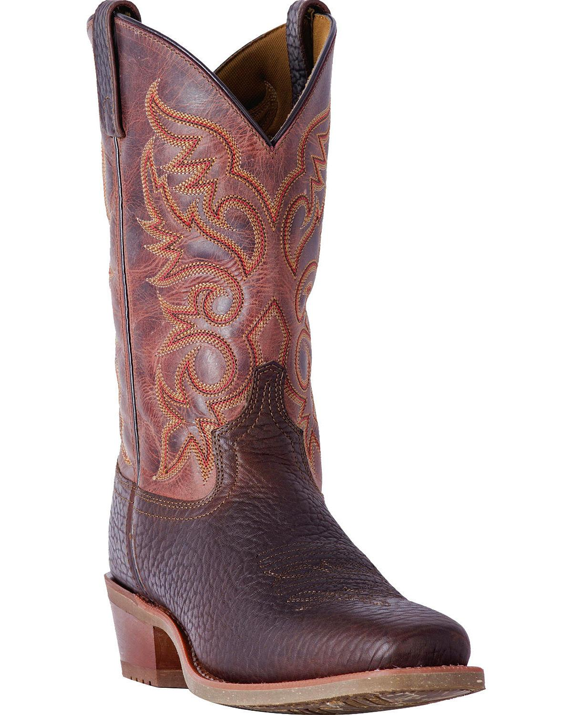 Laredo Men's Merrick Leather Boot Square Toe 68346 by Laredo