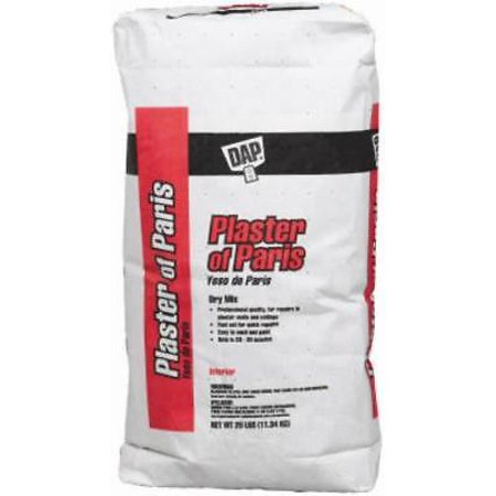 Plaster Of Paris Molds - 25 LB Bag White Plaster Of Paris For Hobby Mold and Casts Only One