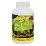 Natures Plus - Source of Life Green Lightning High Energy Whole Food Concentrate - 180 Vegetarian Capsules