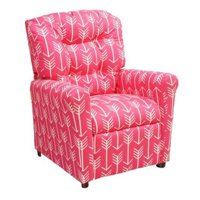 Brazil Furniture Waterfall Back Child Recliner.Brazil Furniture Kids Recliners Walmart Com