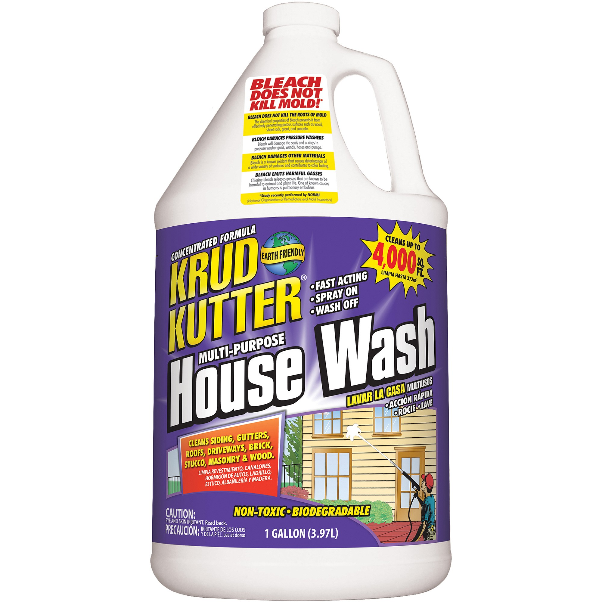 Krud Kutter Multi Purpose House Wash Cleaner, 1 Gal