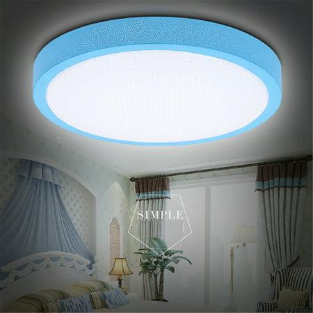 Meigar 12W Round Ceiling Mount Lights Bedroom Hanging Lamp Home Room Fixture Lighting ()