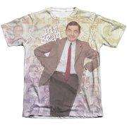 Mr Bean Bean Lean (Front Back Print) Mens Sublimation Shirt