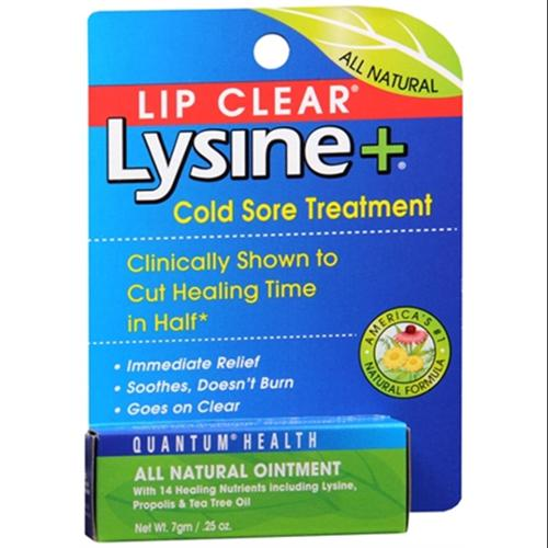Lip Clear Lysine+ Cold Sore Treatment 0.25 oz (Pack of 3)