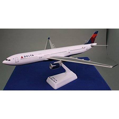 Delta Air Lines Airbus A321-200 Airplane Miniature Model Snap Fit 1:200 Part #AAB-32100H-014
