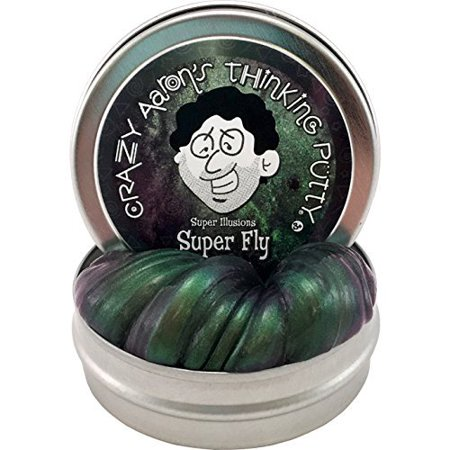 Crazy Aaron's Thinking Putty SF003 Superfly Super Illusions Putty -Mini 2