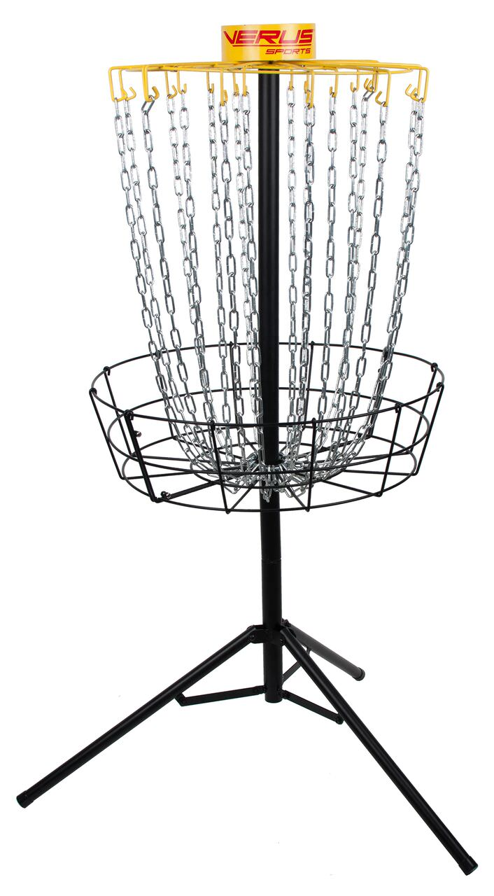 Verus Regulation Expert Disc Golf Basket- Portable Practice Target with Folding Legs by Verus Sports