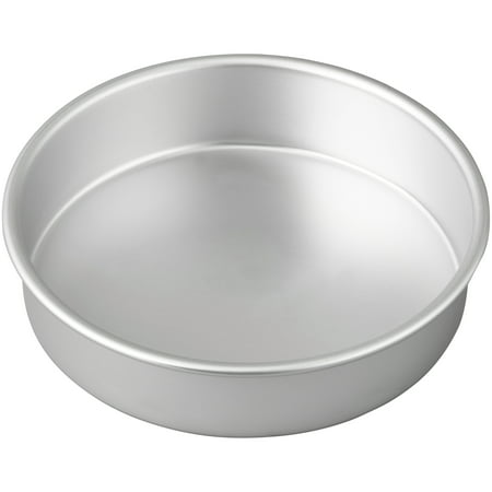 Wilton Performance Pans Aluminum Round Cake Pan, 8 in. ()
