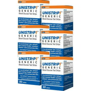 UniStrip Glucose Test Strips  300 CT - For use with OneTouch Ultra Meters