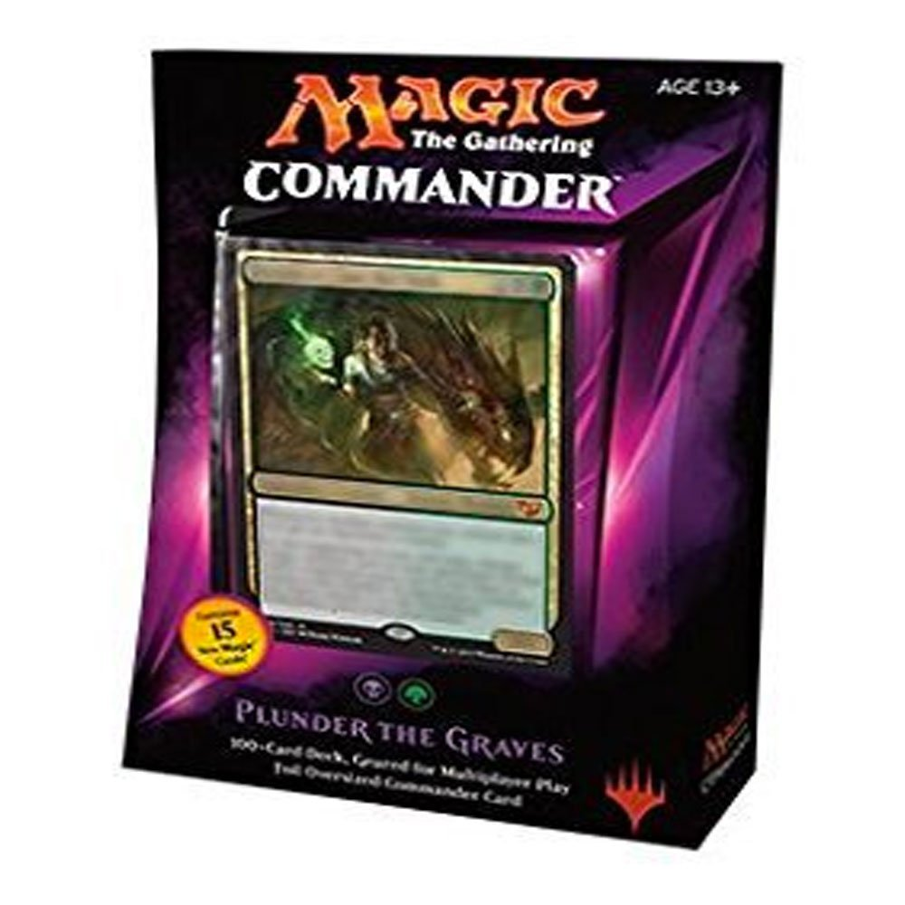 MTG Commander 2015 Edition Magic the Gathering Plunder the Graves Black Green Deck New Sealed by