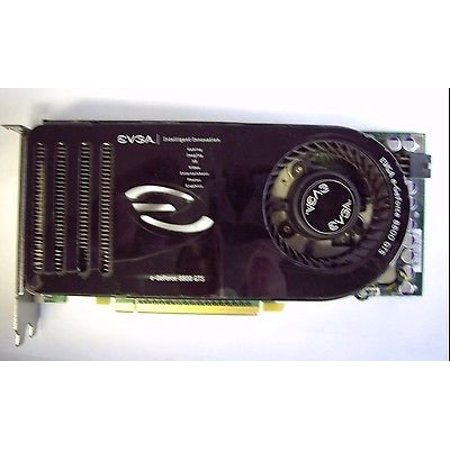 evga 640 P2 N821 KR EVGA GeForce 8800 GTS 640MB PCIe Dual DVI Video Card 640-P2-N821-AR