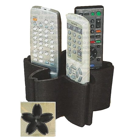 Flower Petal Design Tidy Remote Control Caddy Organizer ()