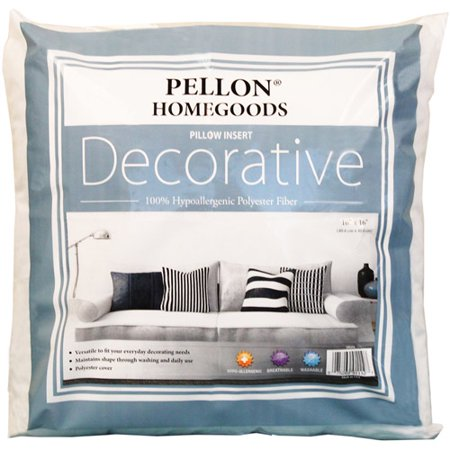 Homegoods Decorative Pillow : Pellon Homegoods Decorative Pillow Insert, 16