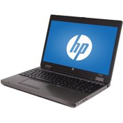"Refurbished HP Black 15.6"" ProBook 6560B Laptop PC with Intel Core i5-2520M Processor, 8GB Memory, 750GB Hard Drive and Windows 10 Pro"