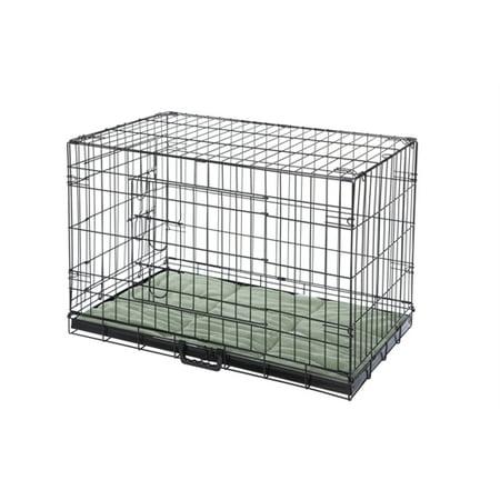 Confidence Pet 36 Quot Folding Dog Crate Kennels 2 Door Puppy