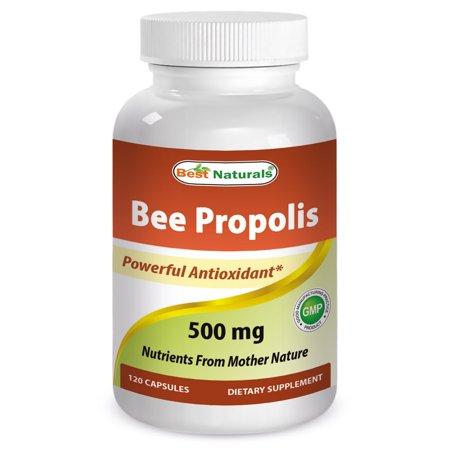 - Bee Propolis 500 mg 120 CAP