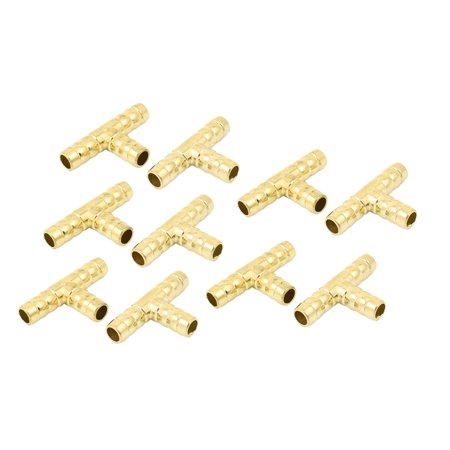 En forme T 3ay raccord rapide pneumatique connecteur couplage 10pcs - image 4 de 4