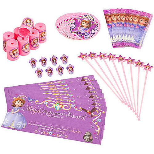 Hallmark Party Express Sofia the First Party Favor Pack, 48 Pack