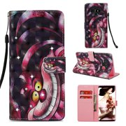 Galaxy Note 9 Case, Note 9 Case, Allytech 3D PU Leather Protective Cover & Pocket Lanyard Wallet with Cards Holder, Support Kickstand Slim Case for Samsung Galaxy Note 9, Purple