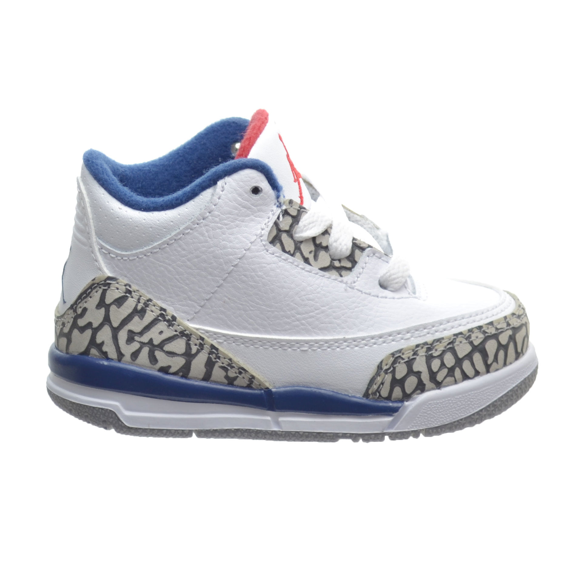 c533b9d8f16908 ... coupon for nike 3 retro bt toddlers shoes white fire red true blue  cement grey 47898