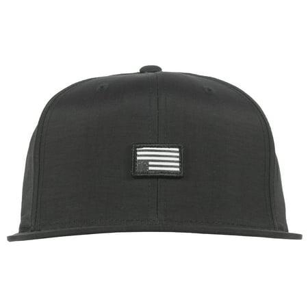 Black Scale Black Scale Nylon Level Snapback New Era Hat Mens