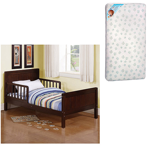 Baby Relax - Nantucket Toddler Bed with Mattress (Your choice in finish)