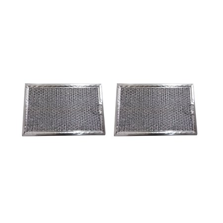 2-PACK Microwave Hood Grease Filter to fit GE (Microwave Filler)
