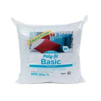 "Poly-Fil® Basic™ 20"" x 20"" Pillow Insert (Pack of 2)"