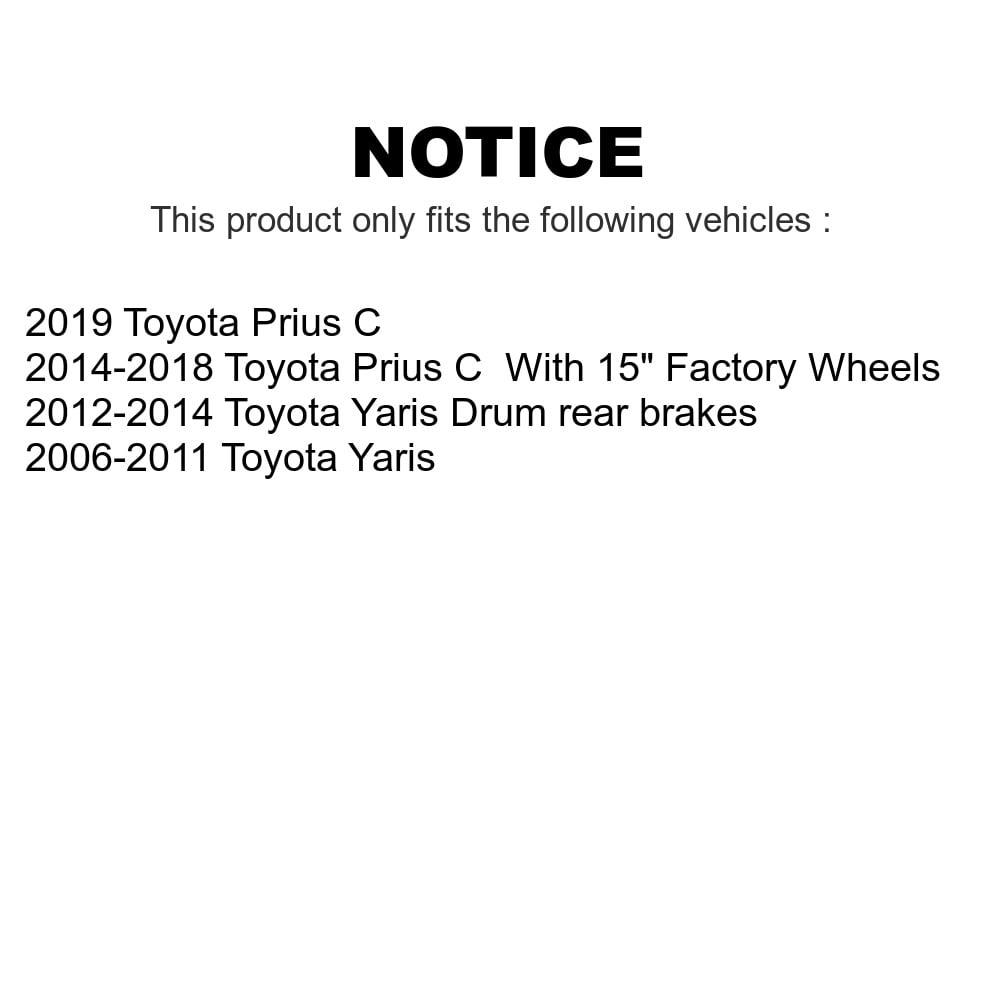 Front Steering Tie Rod End Kit For Toyota Yaris Prius C