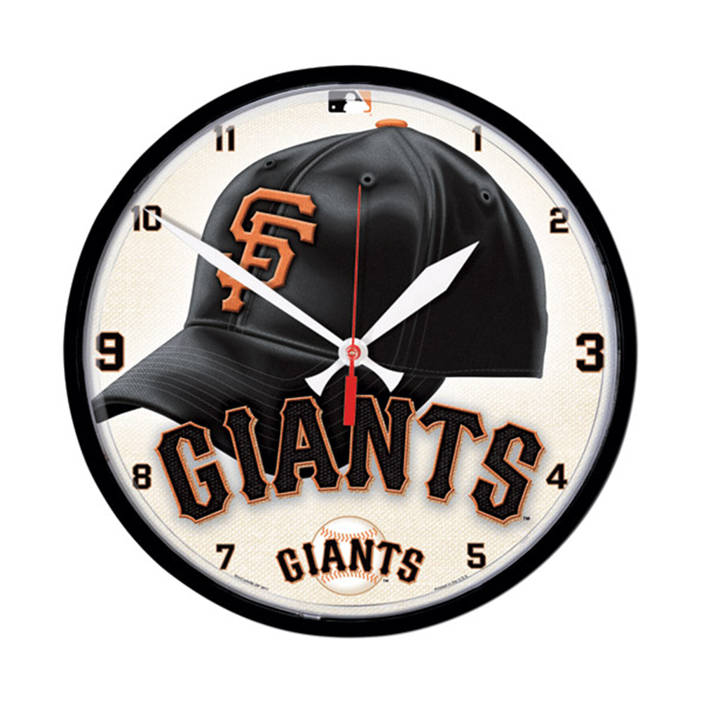 Wincraft WIN-2905611 San Francisco Giants Mlb Round Wall Clock