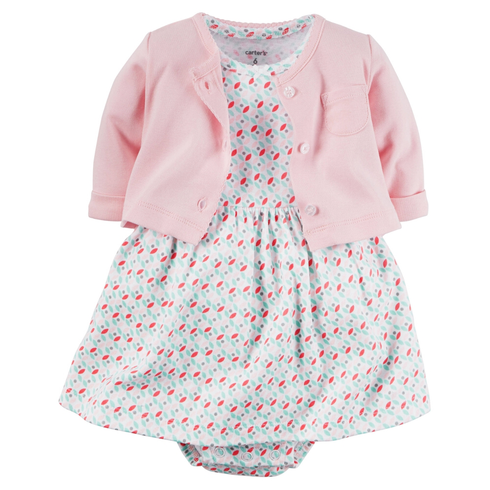 Carters Baby Clothing Outfit Girls 2 Piece Dress