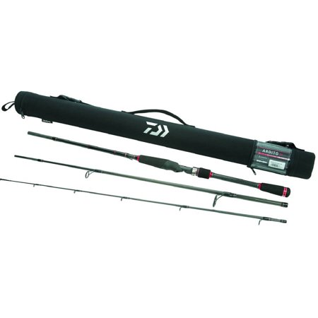 Action Rod (Daiwa Ardito 11' Medium Power, Fast Action 5-Piece Travel Surf Rod w/ Travel Case - ARDT1105MFS-TR)