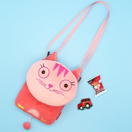 Hottest Small Cat Messenger Bag For Kids Baby Girls Cute Cat Coin Purse Mini Shoulder Bag Children Small Bag Kids & Baby's Bags