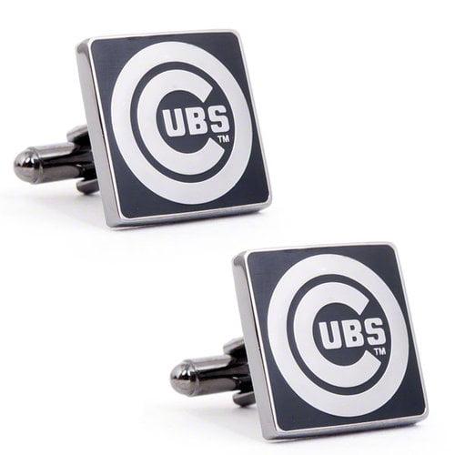 Cufflinks, Inc. PD-CHC-GM Chicago Cubs Black Series Cufflinks