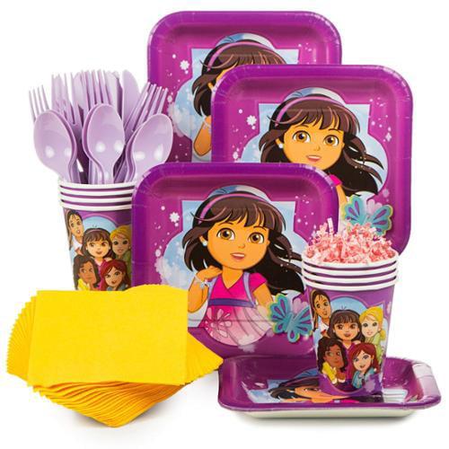 Dora & Friends Standard Kit (Serves 8) - Party Supplies